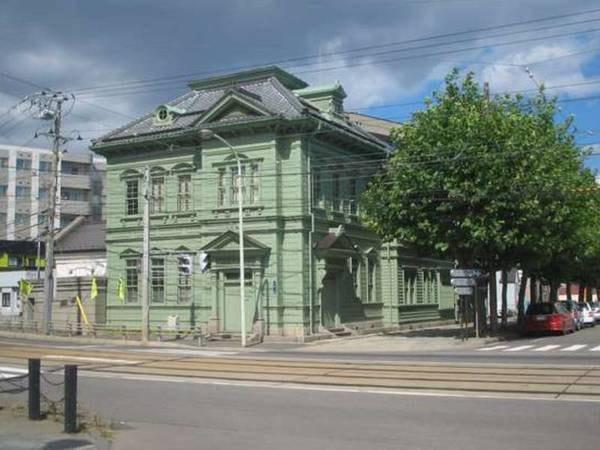 【周辺観光】大正2年築の相馬株式会社は函館市により「伝統的建造物」に指定(ホテルより徒歩5分)