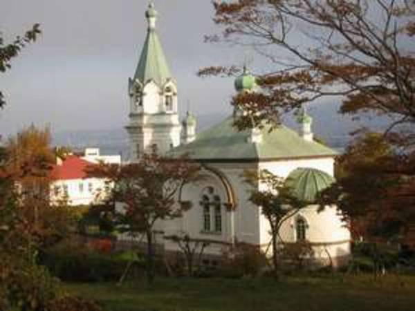 【周辺観光】大正5年築の函館ハリトス教会はホテルより徒歩7分