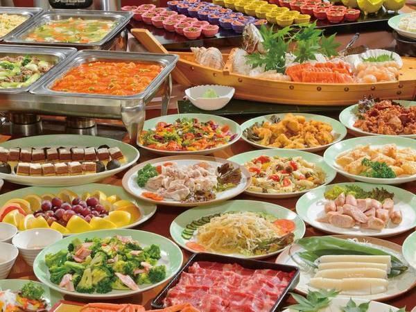 【北の恵みバイキング/例】できたて実演料理や十勝・北海道の食材を楽しめる!
