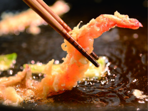 【北の恵みバイキング/例】揚げたてあつあつの天ぷらも食べ放題!