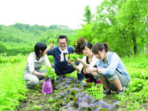 【自社農園/例】ホテル自らで丹精込めて育てた野菜をご堪能いただける