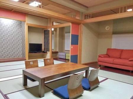 【特別和室(10畳+10畳)/例】2016年12月リニューアル!