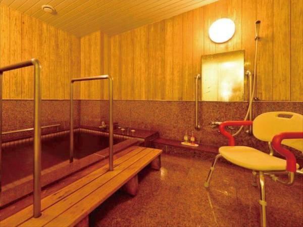 【特別和洋室・客室温泉付バリアフリー対応/例】バリアフリーの客室温泉風呂