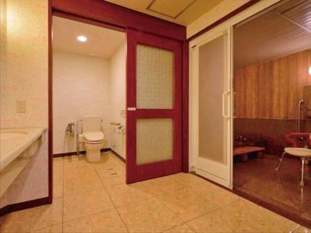 【特別和洋室・客室温泉付バリアフリー対応/例】洗面所・お手洗い
