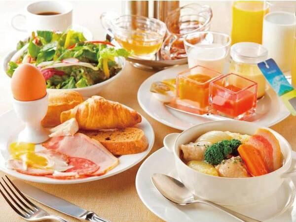 【朝食/例】朝食で心も身体もリフレッシュ!