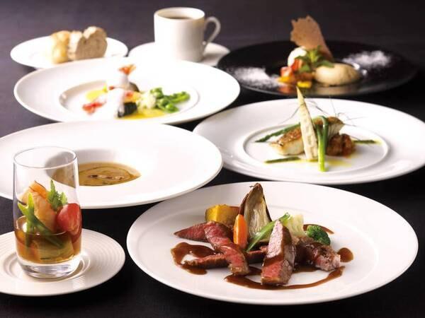 【夕食/例】フルコースディナー