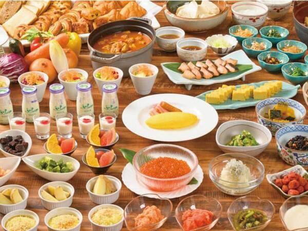 【朝食/例】選べる朝食は和洋より選択可能!※写真は洋定食
