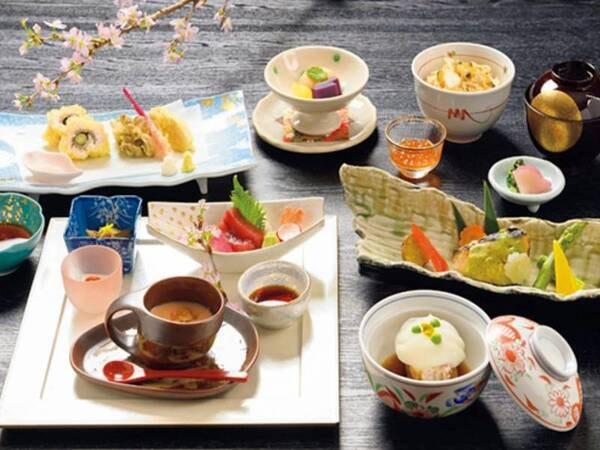 【選べる夕食/例】和食ディナーコース