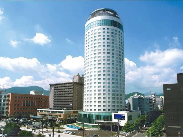 【外観】全586室を誇るシティホテル