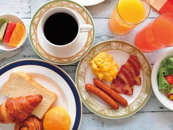 【朝食/例】道産食材なども楽しめる和洋ビュッフェ