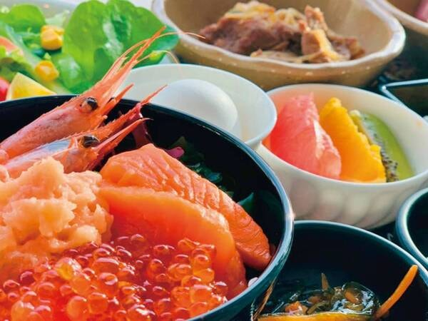 【朝食(ロイヤルフロア宿泊者専用)/例】ロイヤルフロアご宿泊のお客様にはホテル最上階にて特別な朝食を