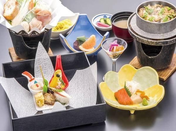 【梅御膳/例】少量でも季節の味を楽しめるお手頃料理