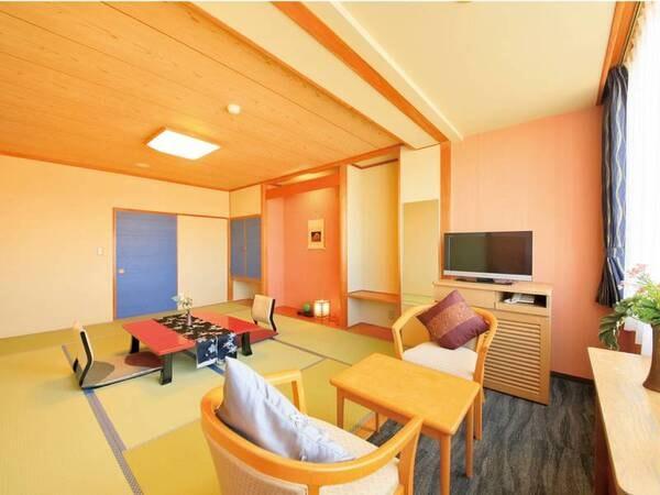 【客室/例】広さ8~10畳の純和風和室へご案内