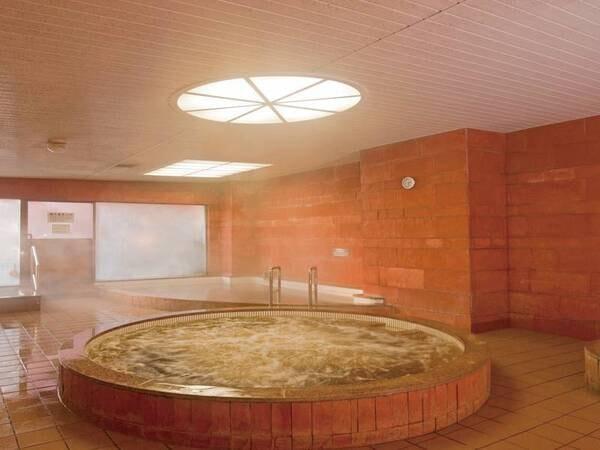 【大浴場】内湯にも人気のモール温泉を使用