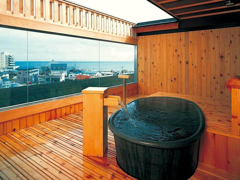 【貸切展望露天風呂・海百景】プライベートな空間で湯浴みを(※要予約)