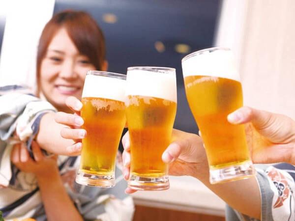 【飲み放題イメージ】生ビール・ハイボール・日本酒・サワー・ソフトドリンク等