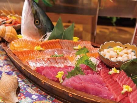 【夕食バイキング/例】函館の旬の海鮮もご用意!