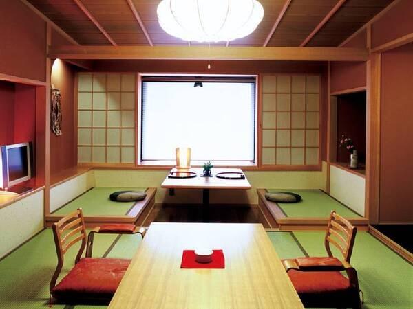 【新館和室/例】純和風の落ち着ける空間