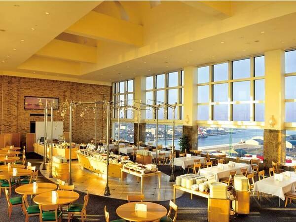 【レストラン】釧路市街や太平洋を一望いただける