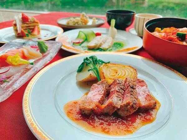 【夕食和洋定食/例】夕食は和洋定食をご用意!