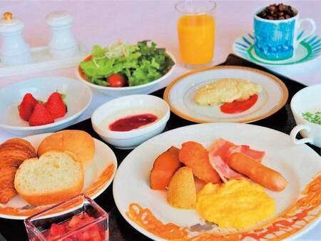 【朝食洋定食/例】朝食は洋食・和食から選択可