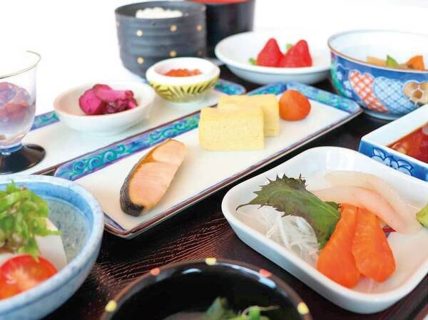 【朝食和定食/例】朝食は洋食・和食から選択可