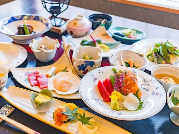 小樽の海鮮満喫☆料理長快心の会席膳/一例
