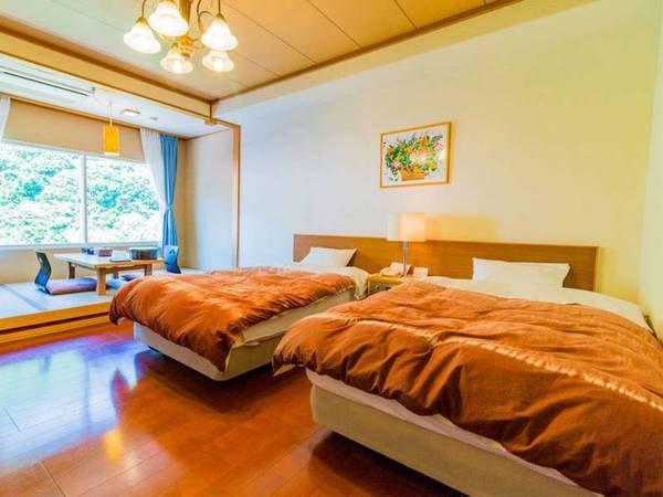 露天風呂付客室(洋室・石造り浴槽)/一例