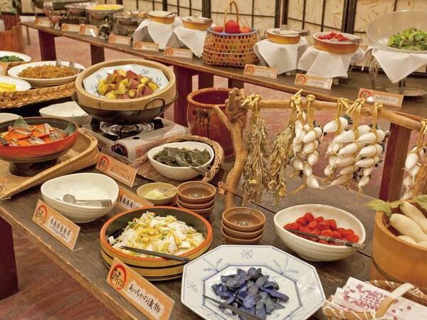 【ご朝食/例】種類豊富な津軽の郷土料理も盛りだくさんです!朝からお腹いっぱい召し上がれ
