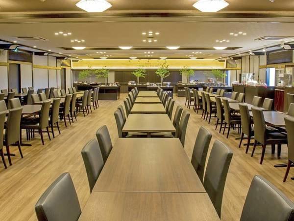 【お食事会場/星の金貨/一例】新たな魅力としてオープン。モダンな設えのお食事会場。ピカピカのお食事会場で食すお食事は格別の味に♪