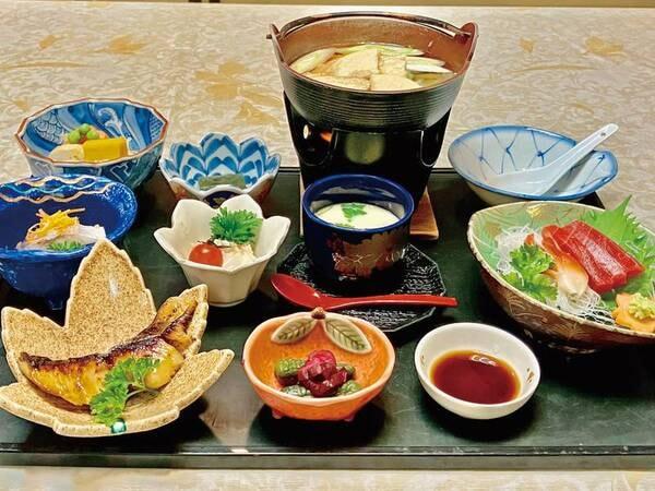 【津軽郷土料理プラン/例】旬の素材で彩られた郷土の料理をお楽しみ下さい。