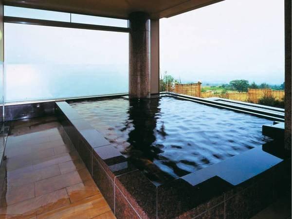 【大浴場】美しい津軽の景色を楽しんで