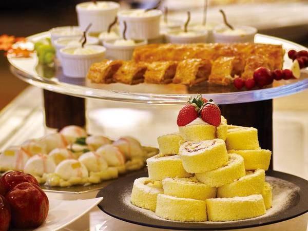 【バイキング/例】豊富な種類が揃っているデザートも嬉しい!デザートの目当ての方もいるとか!?