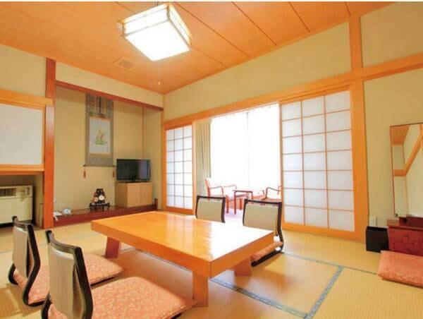 【客室/例】純和風のお部屋で旅の喜びを満喫していただけます。8畳以上の和室へご案内