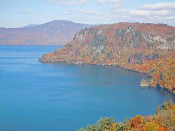 【観光スポット】渓流美で名高い人気の奥入瀬渓流には車で約30分。散策コースあり!
