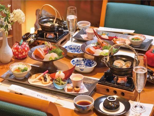 【和食ハーフバイキング/一例】選りすぐりの地元食材を使った訪れる季節ならではの青森の旬をご堪能頂きます