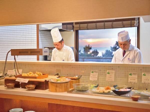 【和食ハーフバイキング/例】熟練した調理人達が真心こめて最高の逸品をご提供致します