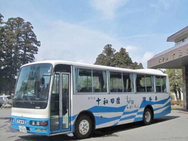 【送迎】JR八戸駅西口より無料送迎バス(時期限定)