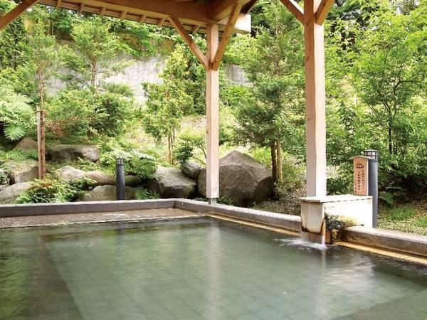 【露天風呂】時間によって男女双方のお風呂もお楽しみ頂けます