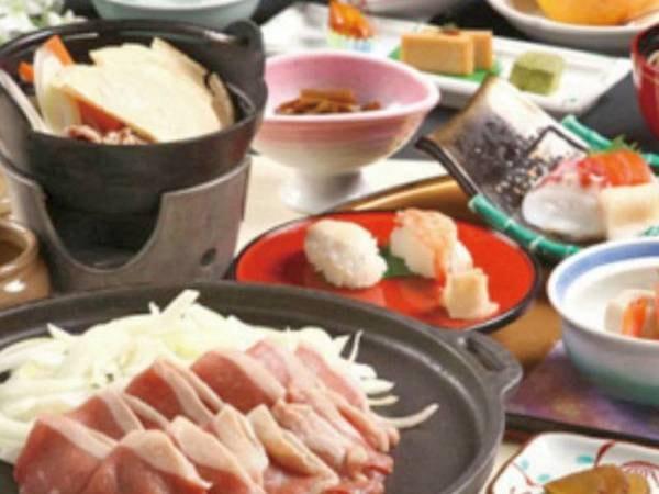 【八戸せんべい汁&十和田バラ焼き/一例】人気のご当地グルメプランになります。是非お試し下さい!