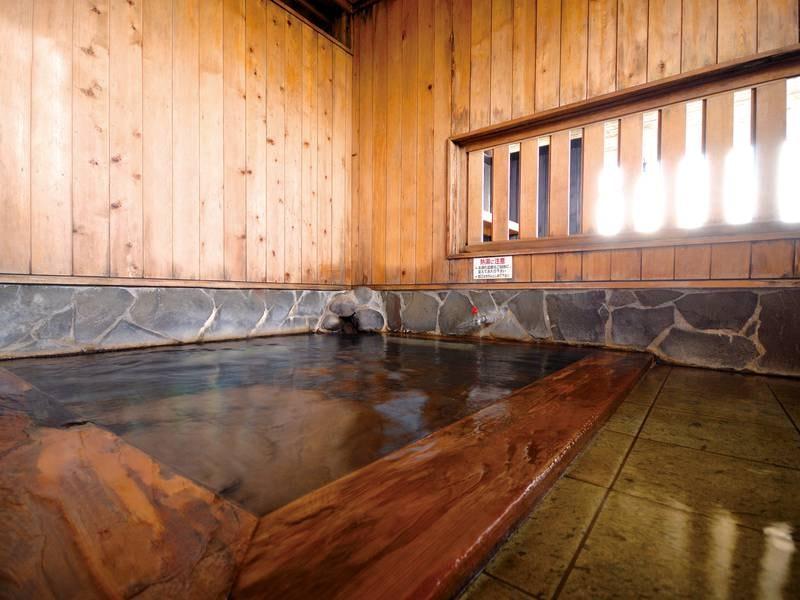【大浴場】木の香りに癒される