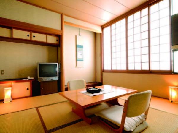 【客室/例】 リーズナブルなお得プラン、8畳和室を中心にご案内