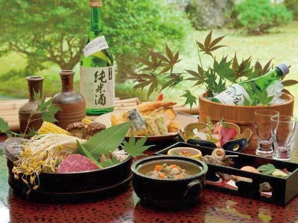 【ゆこゆこ特別和会席/一例】地場の食材にこだわり、調理にも一工夫を凝らした逸品