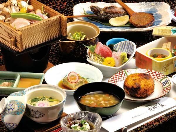 【ゆこゆこプチ会席/一例】美味少量にて量を控えめにお得にお愉しみ頂ける、ゆこゆこ会員限定のプランとなります♪