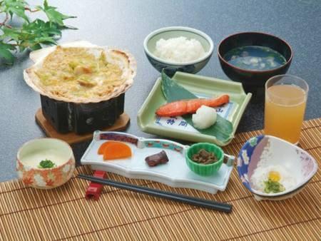 【ご朝食/一例】1日の始まりはご朝食から!バランスの取れた朝食で栄養補給