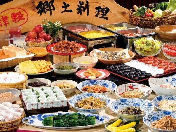 【朝食/バイキング一例】自慢の郷土料理や洗練された和洋のお食事でおもてなしを致します