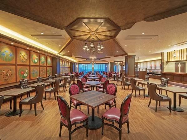 【お食事会場/一例】リニュ―アルOPENした「アムール」洗練された空間にてお食事をお愉しみ頂けます。