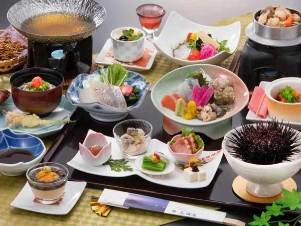 季節のおまかせ膳/夕食例