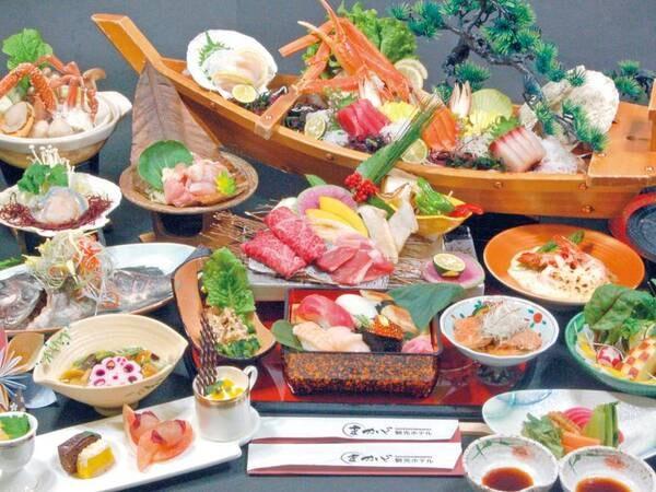【夫婦膳/例】2人分のお料理をひとつの御膳でご用意