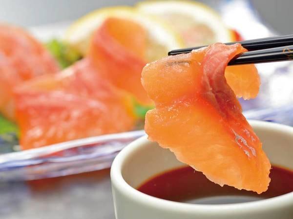 【お刺身/一例】北の海育ちの魚は身も締まっており旨さ抜群!半端ないってぇ~♪